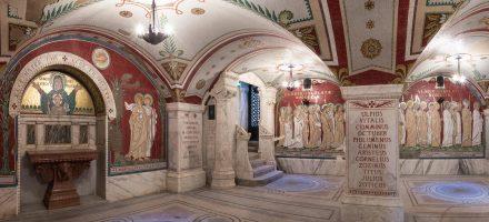 Les mosaïques de la crypte de l' Antiquaille : un autre récit de la persécution de 177